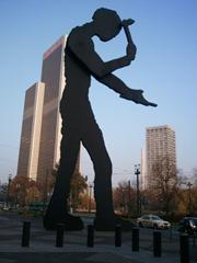 """Frankfurt """"Hammering Man"""""""